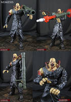 Custom marvel vs Capcom 3 Nemesis by Jin-Saotome