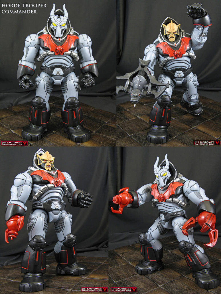Hordak in Horde Trooper Commander Armor by Jin-Saotome