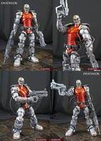 Deathlok Custom marvel legends figure by Jin-Saotome