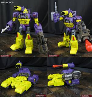 Custom Transformers Impactor figure