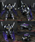Transformers Prime Insecticon Shrapnel figure