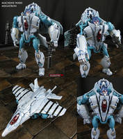 Machine Wars custom Megatron or Megaplex figure by Jin-Saotome
