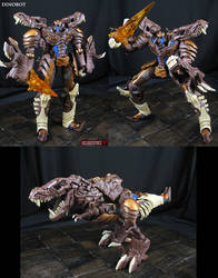 Beast Wars Dinobot custom done AoE movie style