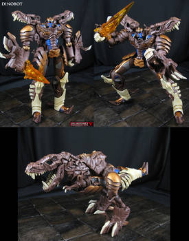 Beast Wars Dinobot custom done AoE movie style by Jin-Saotome