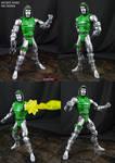 Dr Doom Secret Wars custom Marvel Legends