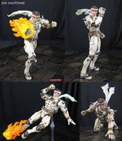 Jin Saotome Marvel Select custom action figure by Jin-Saotome