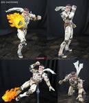 Jin Saotome Marvel Select custom action figure