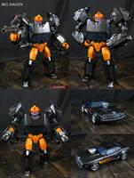 Custom Big Daddy Transformers Figure by Jin-Saotome