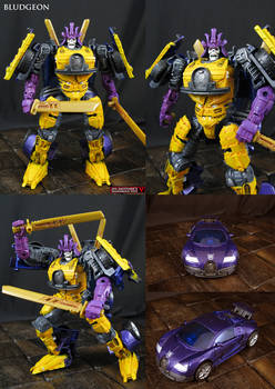 Custom Transformers Bludgeon action figure