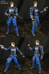 Custom Resident Evil 2 Leon Kennedy action figure