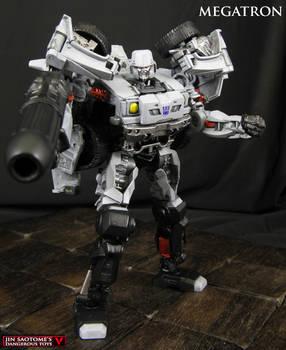 Custom Megatron as Humvee Transformers figure