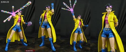 Custom Marvel Legends Jubilee figure by Jin-Saotome