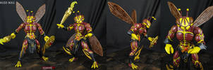 Buzz-Kill Masters of the Universe custom figure by Jin-Saotome