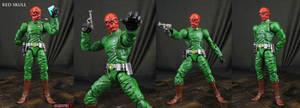Custom Classic Red Skull action figure