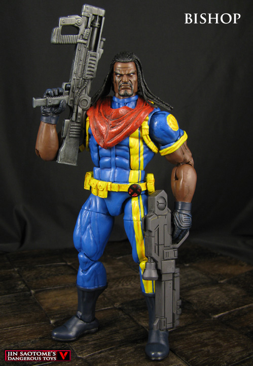 Bishop custom X-Men Marvel Legends figure by Jin-Saotome