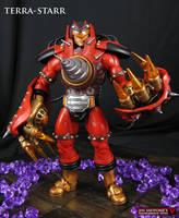 Custom MOTUC figure Terra-Starr original character