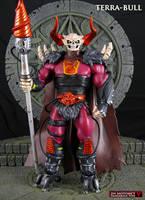 Custom MOTUC Terra-Bull action figure