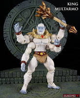Custom MOTUC character King Multarmo by Jin-Saotome