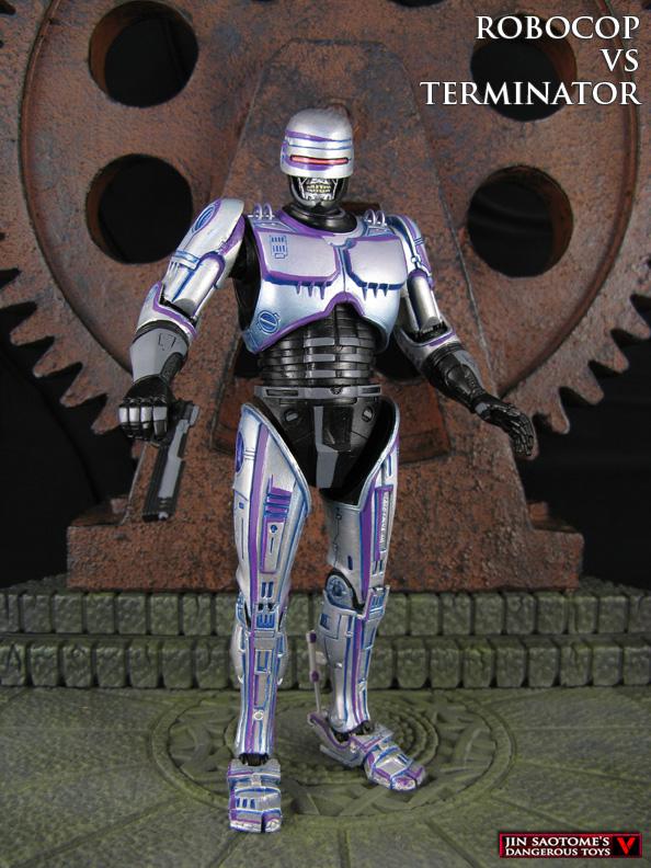 Robocop vs Terminator custom T-800 Robodrone by Jin-Saotome