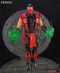 Ermac Mortal Kombat 6 inch custom figure by Jin-Saotome