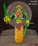 MOTUC Snake He-Man custom action figure