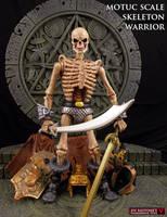 Custom MOTUC Skeleton Warrior figure by Jin-Saotome