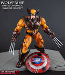 MCU style custom Wolverine figure