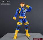 MCU style Cyclops custom Marvel Legends figure