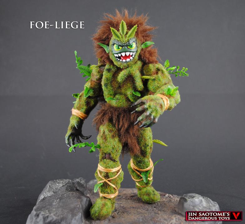 MOTUC custom Foe-Liege forest lord figure by Jin-Saotome