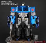 Diaclone Optimus Prime custom figure