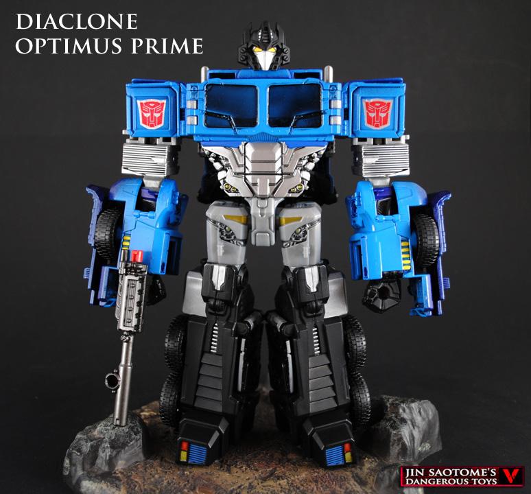 Diaclone Optimus Prime custom figure by Jin-Saotome