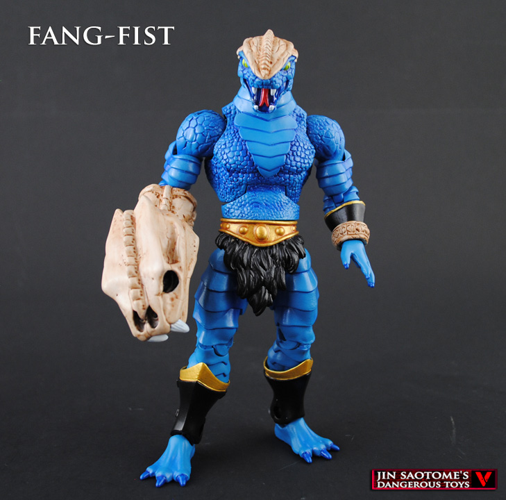 Custom MOTUC Fang-Fist original character by Jin-Saotome