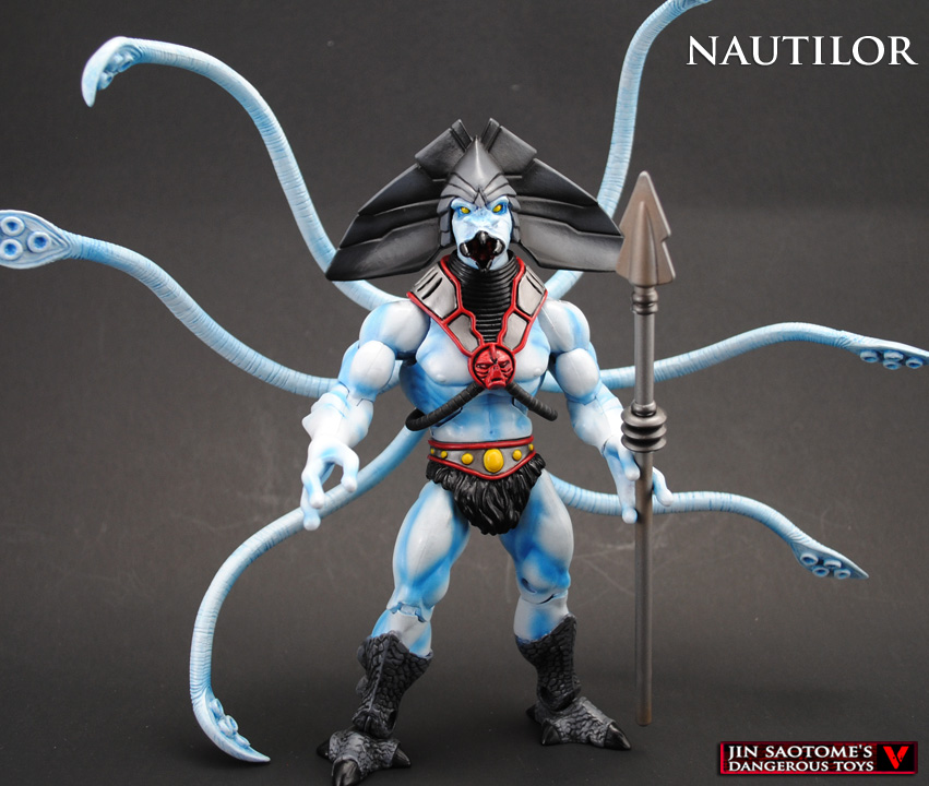 MOTUC Nautilor custom action figure by Jin-Saotome