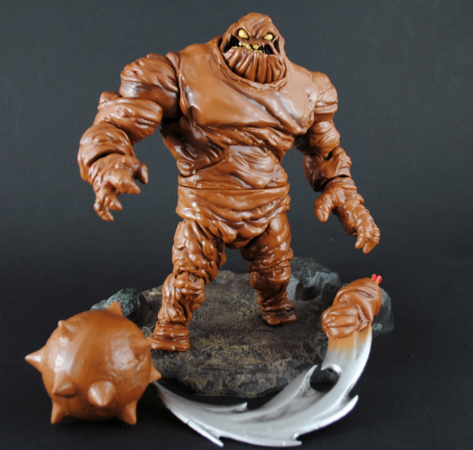 DC Collectibles to release Arkham City Clayface figure ...  |Clayface Action Figure
