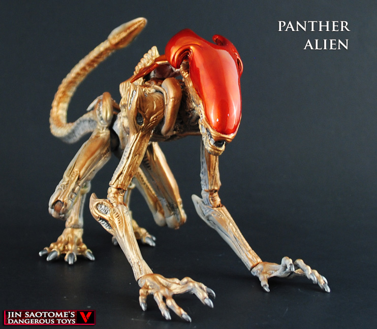 Kenner style Panther Alien by Jin-Saotome