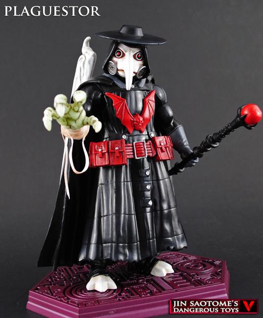 Custom MOTUC Plaguestor figure by Jin-Saotome