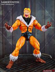 Custom First Appearance Sabertooth Marvel legends