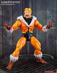 Custom First Appearance Sabertooth Marvel legends