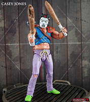 Custom TMNT Classics Casey Jones Figure by Jin-Saotome