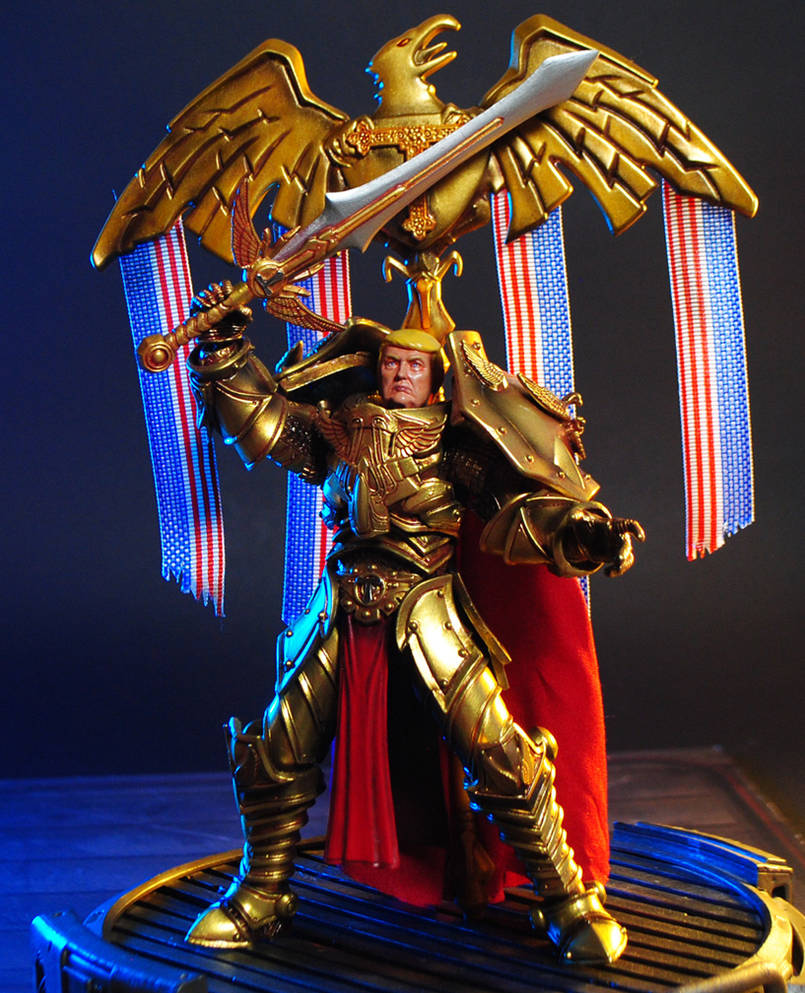 God Emperor Trump custom action figure