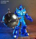 Custom Starriors Ripsaw action figure by Jin-Saotome