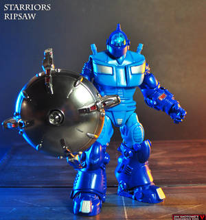 Custom Starriors Ripsaw action figure