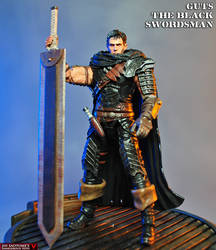 Custom Guts the Black Swordsman action figure