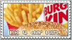 Burger King Stamp by RetroDuo