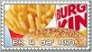 Burger King Stamp by RetroDuo