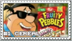 Fruity Pebbles Stamp by RetroDuo