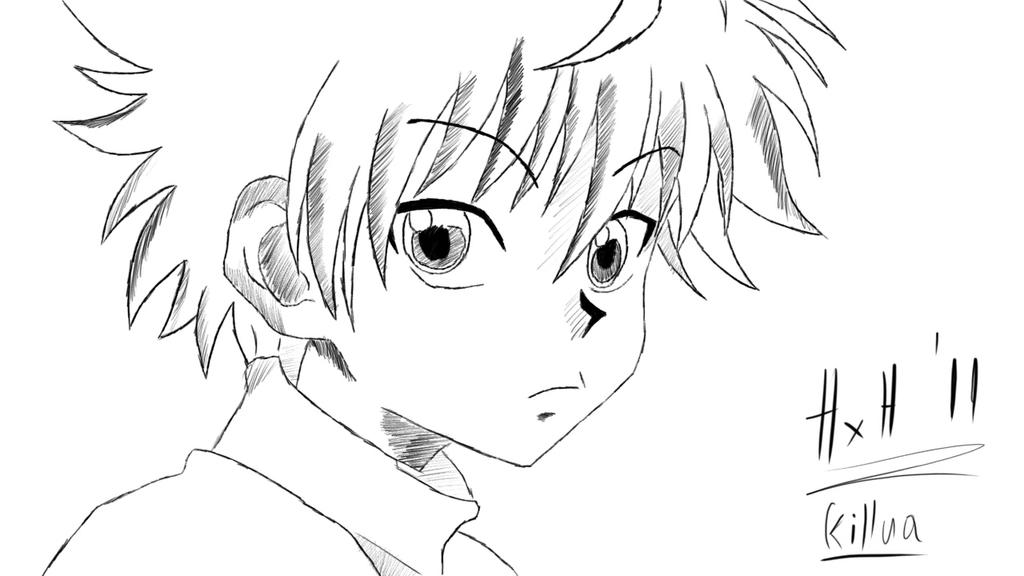 Killua hunter x hunter 2011 sketch by mand4drawings on deviantart killua hunter x hunter 2011 sketch by mand4drawings voltagebd Image collections