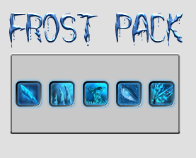 [free] Frost Game Icon Pack by MAND4Drawings