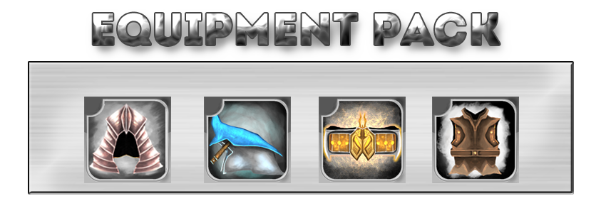 Equipment Icon Pack by MAND4Drawings