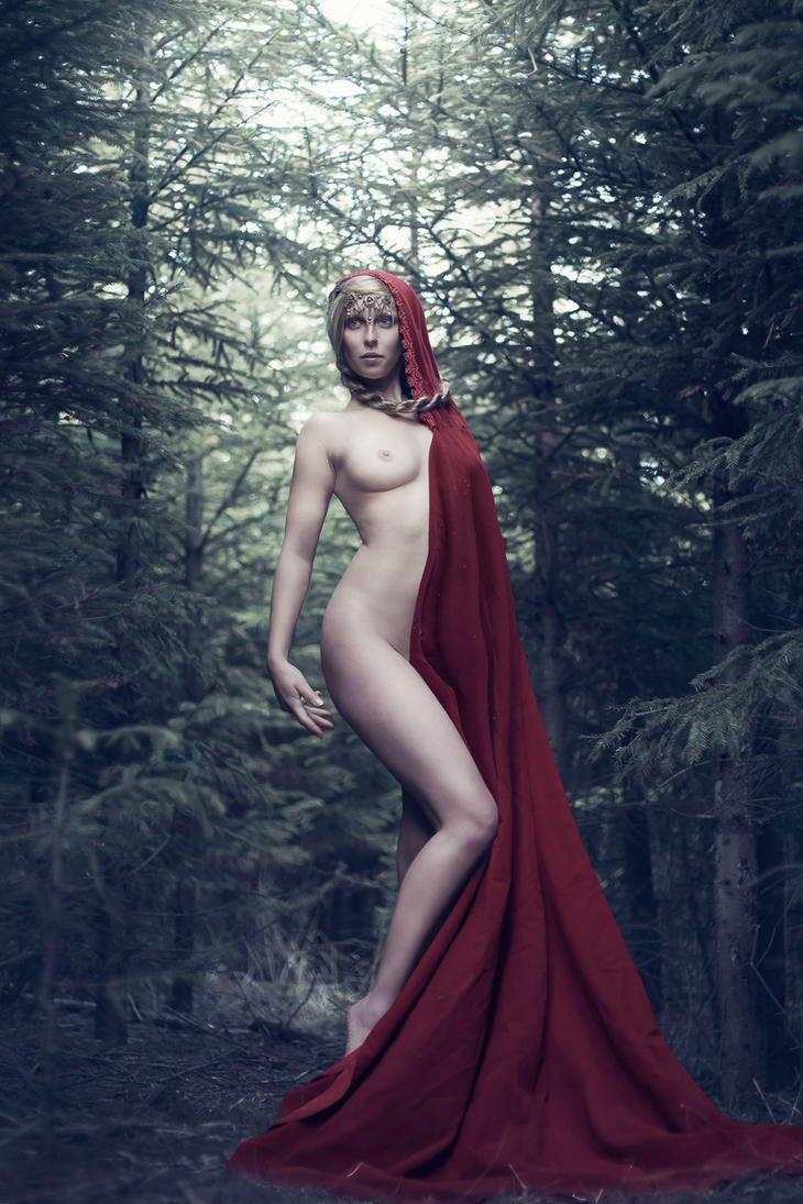 Little Red Riding Hood grew up by ankaszklanka